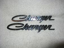 NOS Mopar 1968-70 Dodge Charger Roof Emblems