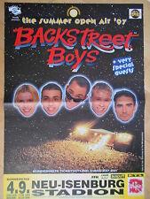 BACKSTREET BOYS 1997 NEU ISENBURG  -  orig.Concert-Konzert-Poster-Plakat