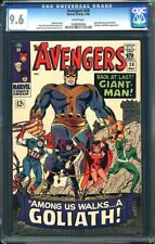 Avengers #28 CGC 9.6 1966 1st Goliath! White! Collector! Infinity Wars H4 104 cm