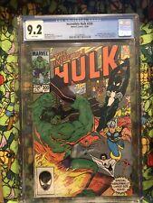 INCREDIBLE HULK #300 CGC 9.2 1984 - EARLY Venom BLACK COSTUME ASM