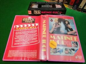 MATINEE IDOL (1984) - RARE Australian Pink Video 14th Mandolin Release Vhs Issue