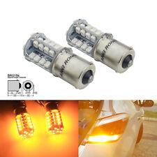 2x 1156 BAU15S PY21W 40 SMD LED Clignotants Feu de recul Lampe Ampoule Jaune 12V