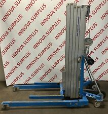 Genie Superlift Advantage 650Lb  Capacity 26ft Material Lift 26' *NEEDS REPAIR*