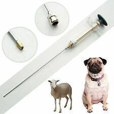 Stainless Steel Canine Dog Goat Artificial Insemination Breed Catheter Rod M1 QL