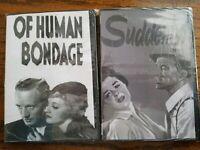 Lot DVD Drama Human Bondage Suddenly Drama Frank Sinatra Betty Davis Love Movies
