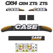 Case CX14 Decals Stickers Kit Repro set