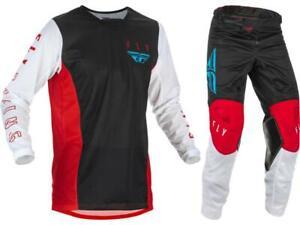 Fly Racing Kinetic Mesh Jersey Pant Combo Set MX Riding Gear MX/ATV/BMX 2021.5