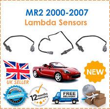 Para Toyota MR2 1.8i Vvti 2000-2007 2 Frontales & 1 Trasero O2 Sensor Lambda