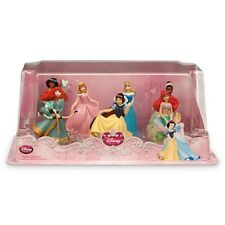 DISNEY PRINCESS Doll Play Set Toy Cinderella Jasmine Ariel Merida Tiana Figure