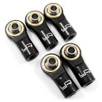 Alloy 3mm Rod Ends for 1:10 RC Rock Crawler or Car suit Axial Gmade MST  - BLACK
