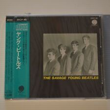 THE BEATLES - THE SAVAGE YOUNG BEATLES - 1987 JAPAN CD NEW & SEALED