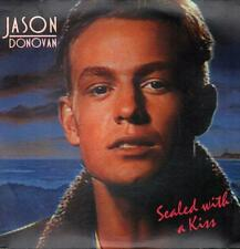 "Jason Donovan(7"" Vinyl P/S)Sealed With A Kiss-PWL 39-65-VG/VG+"