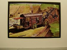 Steam Power  Marion steam Shovel    Color Artist Illustrated Archives Museum