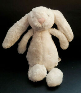 Jellycat London Cream Bashful Bunny Rabbit Plush - 8""