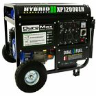Brand New Duromax 12000-Watt/9500-Watt Electric Start Dual Fuel Gas Propane