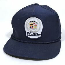 Cadillac Patch Snapback Cap Vintage Classic Automotive Baseball Hat Luxury    c2