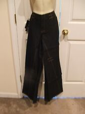 NWTnewport news JEANOLOGY FASHION BELL BOTTOM jeans size12-waist 33 inseam- 32.5