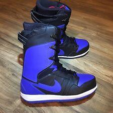 Nike Vapen Snowboarding Boots, Black Blue 447125-041 RARE Size 8, MSRP $300