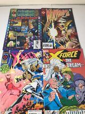 Lot Of 4 Marvel Comics Wolverine X-men X-force Generation X Free Shipping