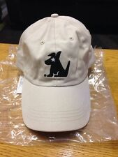 New Sirius Satellite Radio Dog Logo Adjustable Strapback Khaki Baseball Hat
