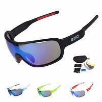 EOC Polarized Cycling Glasses Bike Goggles Bicycle Sunglasses Eyewear UV400 US