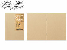 Refill 009 Kraft Paper | Traveler's Notebook Passport Size PP Midori | New