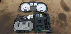 Peugeot 307 CC 1.6 16v Facelift ECU Kit 2x Remotes / Speedo / Bsi 0261208909