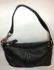 Coach Black Leather Mini Hobo Bag/Purse