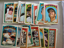 1972 TOPPS BASEBALL TRADING CARDS - YOU PICK FREE SHIPPING MULTI CARD DISCOUNT