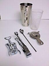 Vintage Ivirnware Barware Shaker Set