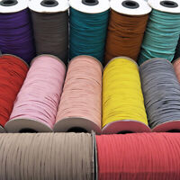 200Y 1/8'' Elastic Rope Band Stretch String Rubber Tape Ear Hanging DIY Sewing