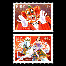 Ireland 2002 - EUROPA Stamps - The Circus - Sc 1404/5 MNH