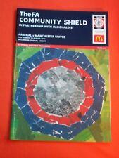 Arsenal v Manchester United,  Community Shield   10th August 2003