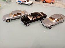 Hot Wheels vintage blackwall Mercedes 380 lot of 3 cars black made in france