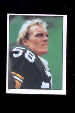 1981 Topps JACK LAMBERT Pittsburgh Steelers Sticker