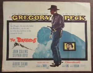 The Bravados (1958) - USA Lobby Card / Gregory Peck, Joan Collins