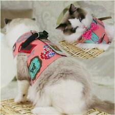 Indian Escape Proof Cat Vest Harness and Leash Set Leads For Small Medium Large