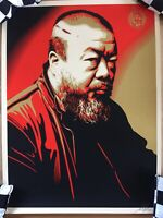 Shepard Fairey (AI WEIWEI X COST OF EXPRESSION) Screen Print Signed And Numbered