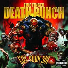 Five Finger Death Punch - Got Your Six [New CD] Explicit