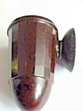 DECO BAKELITE CAR ASHTRAY MOTTLED BROWN 1930-1950 (6 available)