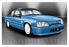 VK SS GROUP A COMMODORE TIN SIGN  VK GROUP A COMMODORE  TIN SIGN 20X30 cm  small