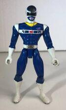 Power Rangers 1997 Space Blue Ranger Action Figure Bandai (D11)