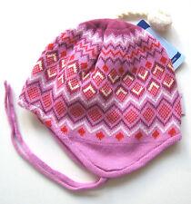 Strick Mütze Gr.45 Sterntaler NEU 100%Baumwolle zweilagig krokus baby winter