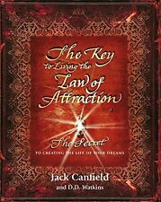 Key to Living the Law of Attraction by Jack Canfield New Paperback Book