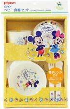 Japan Pigeon Baby tableware  Mickey & Friends (Dishwasher compatible)
