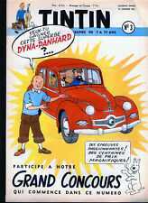 TINTIN  en fascicules : ANNEE  1953 complète     --T.B.E---..