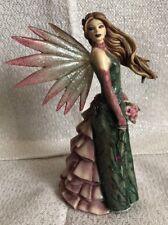SPRING ENCHANTMENT * Dragonsite Fairy Figurine By Jessica Galbreth
