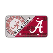 Metal Vanity License Plate Tag Cover - The University of Alabama Crimson Tide