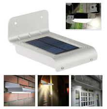 Faro Faretto Led a Energia Solare Sensore PIR Lampada Giardino Luce per Esterno