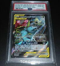PSA 10 GEM MINT Celebi & Venusaur GX SM167 SM Black Star HOLO Promo Pokemon Card